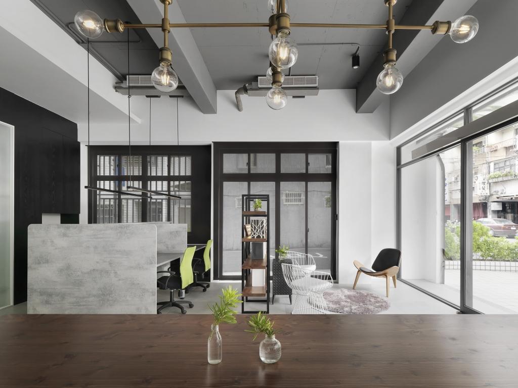 歐帝貿易企業|台北石牌工業風辦公室