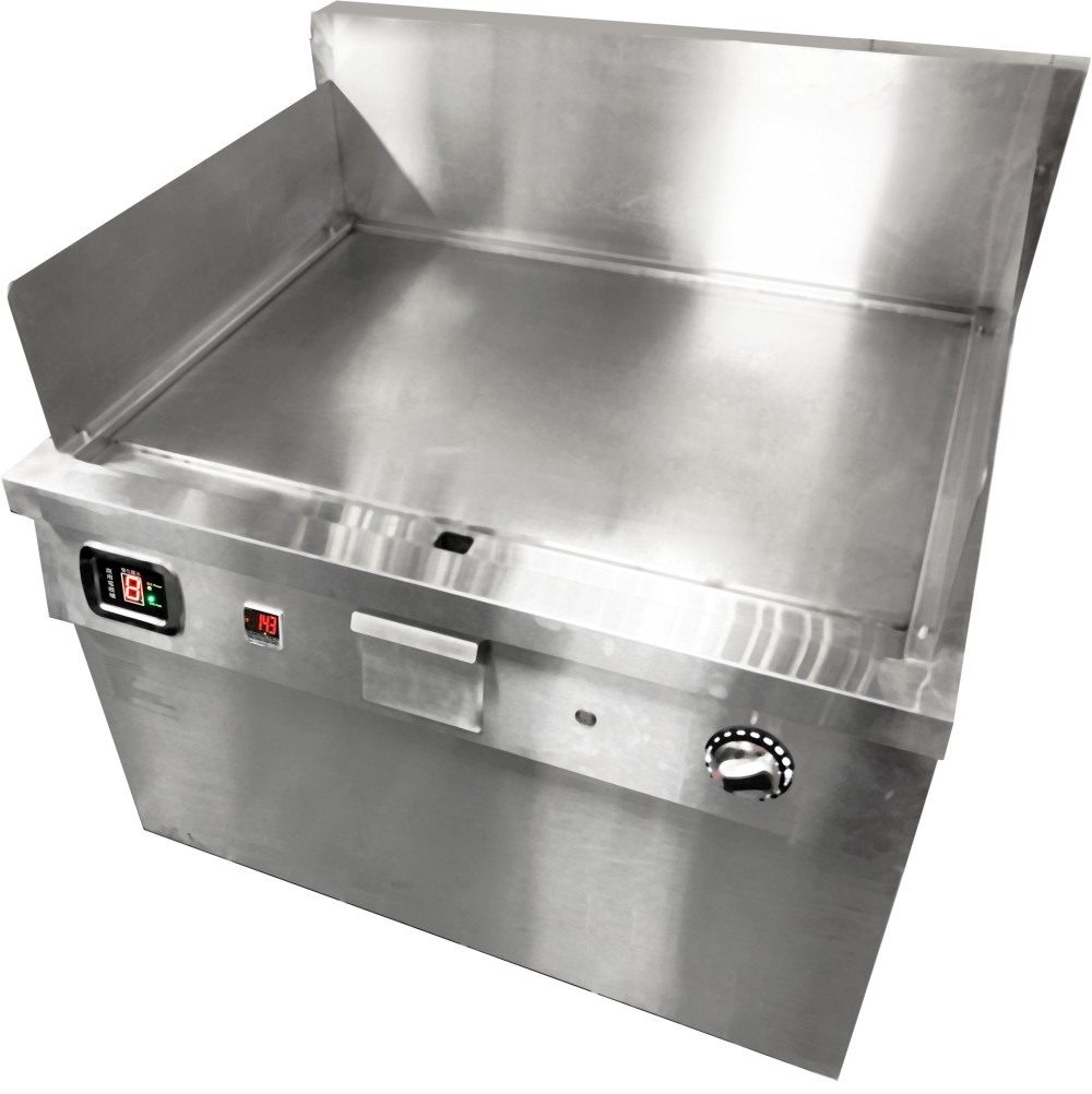 客製立式均溫鐵板煎台