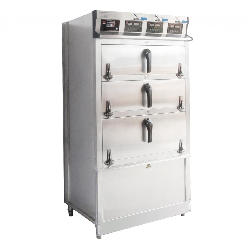智慧型電能三門式蒸櫃