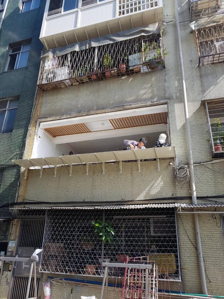鋼構、鋁窗部