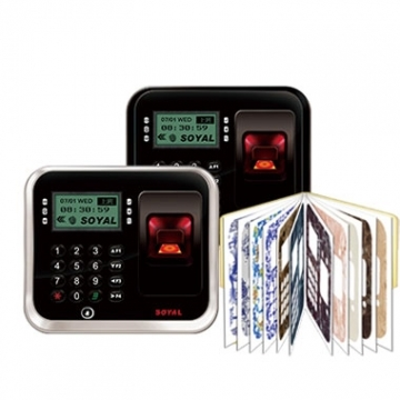 指紋雙頻門禁控制器(