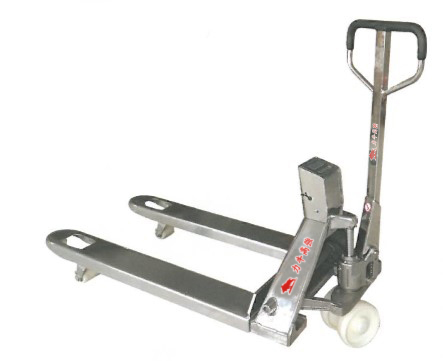 磅秤型拖板車/不鏽鋼磅秤型拖板車