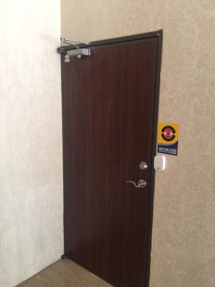 門弓器安裝