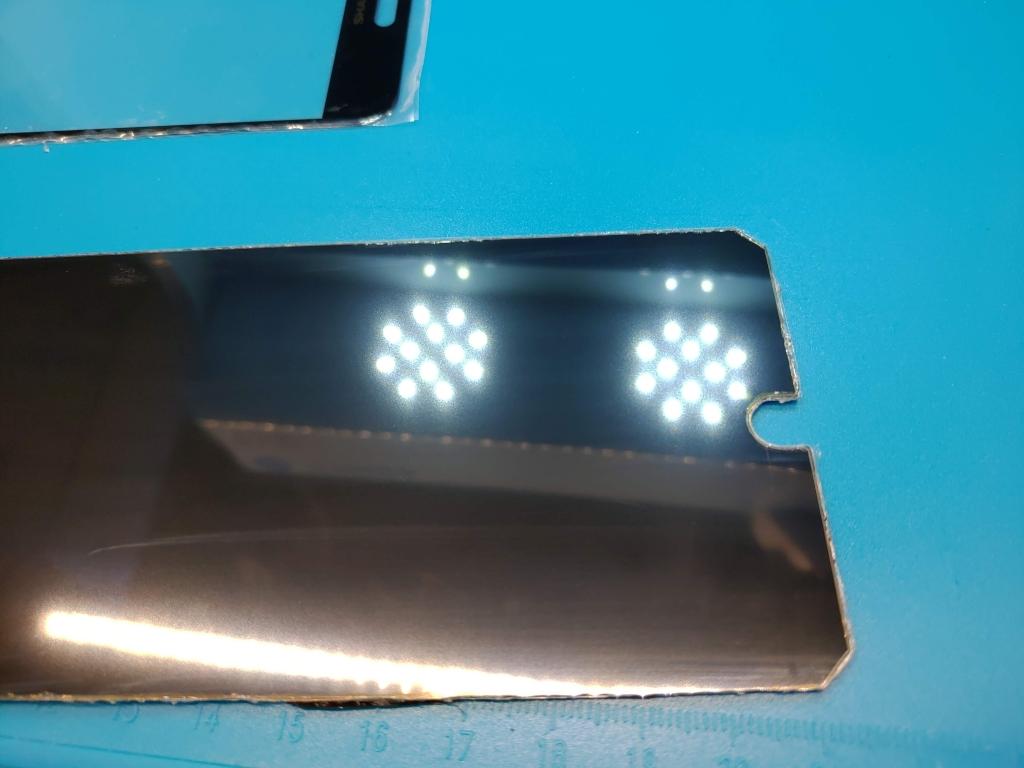 sharp 冷門型號找不到螢幕總成零件自己貼新玻璃