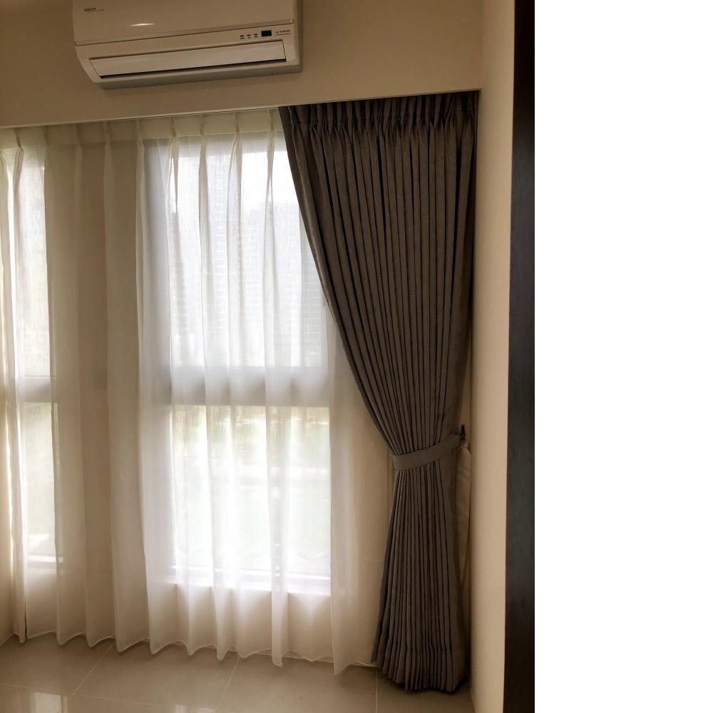 傳統窗紗簾(遮光布)