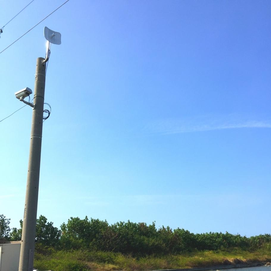 魚塭無線多點連線網路