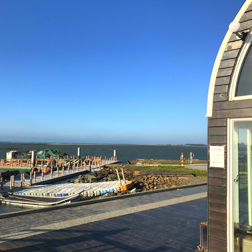 小琉球漁船碼頭無線影