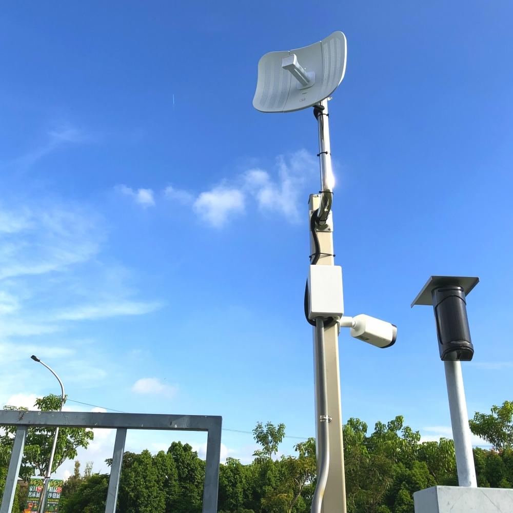 鳳山水資源局監控無線