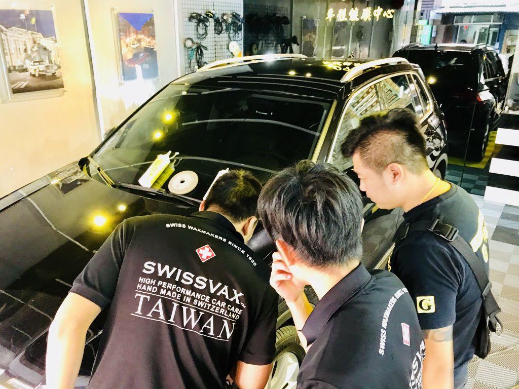 汽車漆面拋光工程