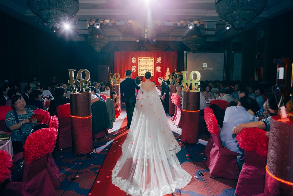 婚禮紀錄 結婚午宴 (漢來國際宴會廳 漢來本館)