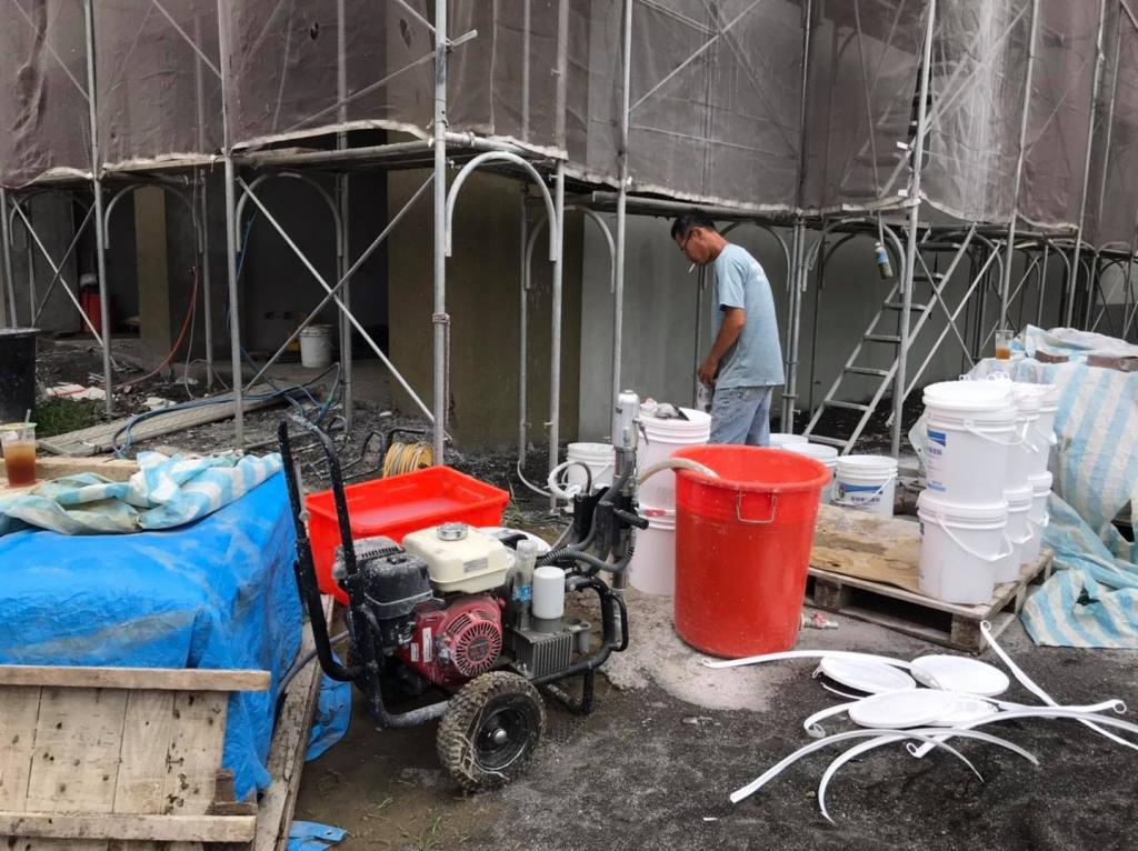 進口塗料噴塗工程