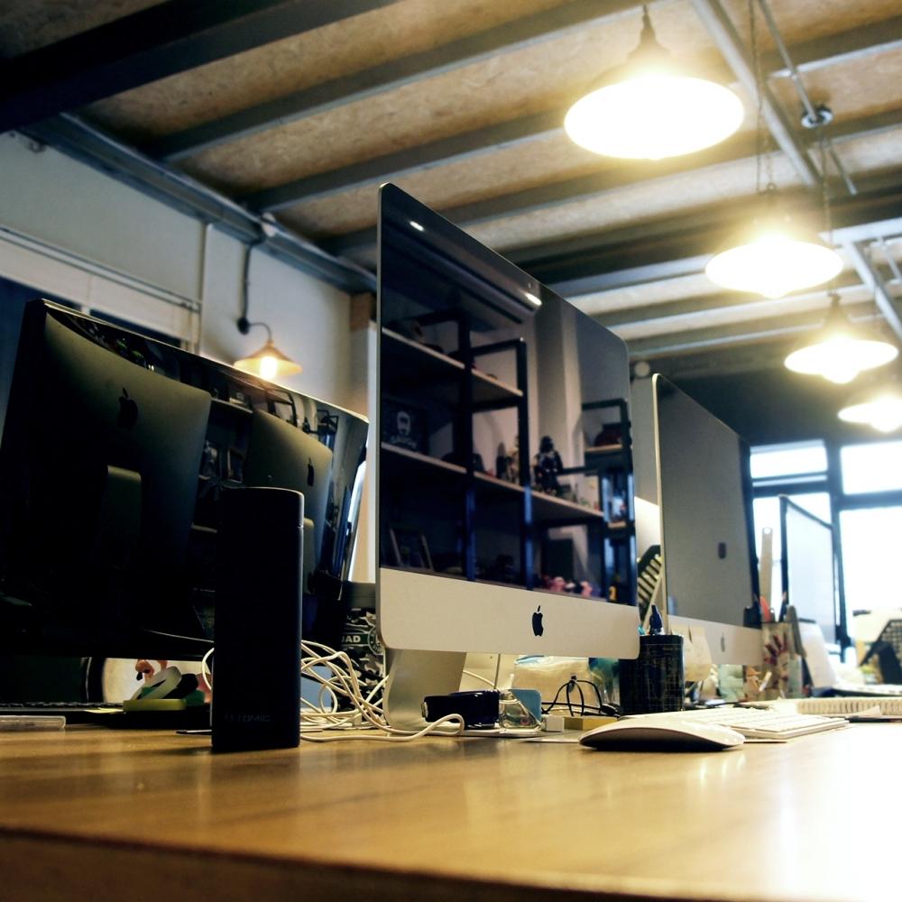 工業風辦公室  .一