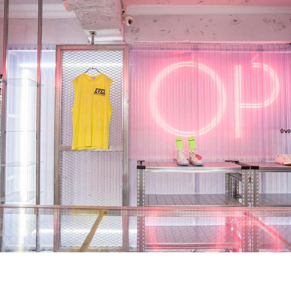 OP-Light flow clothing store