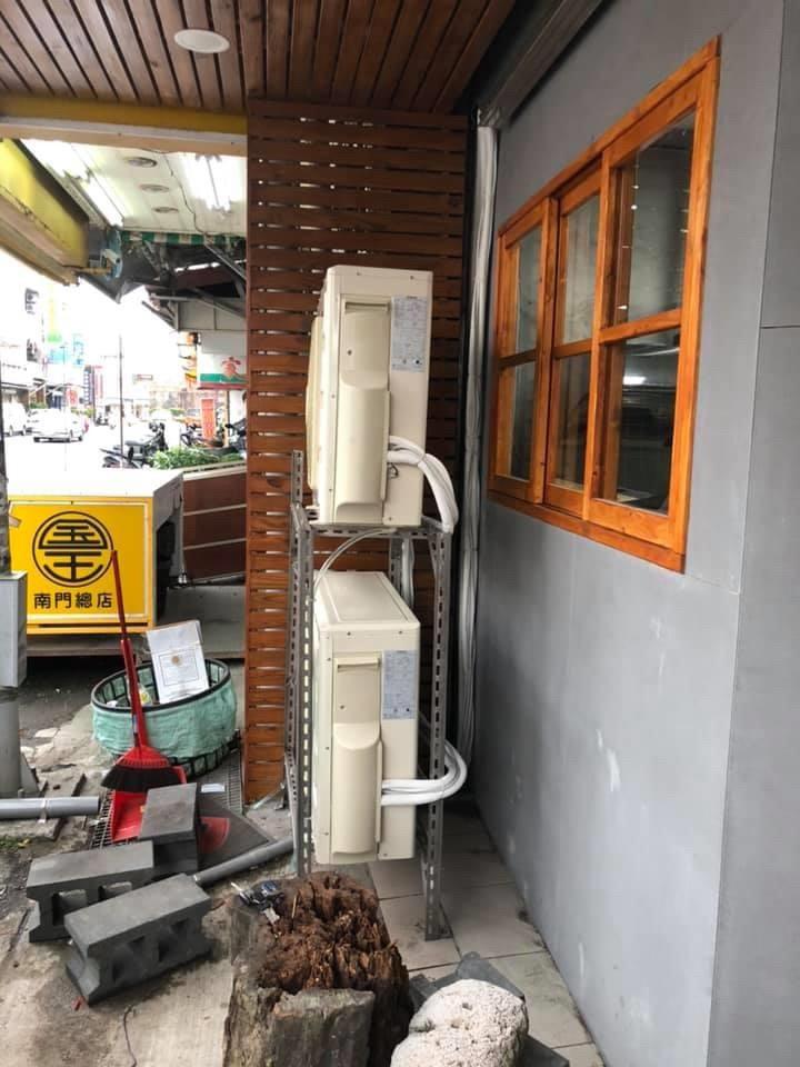 冷氣安裝+管槽安裝