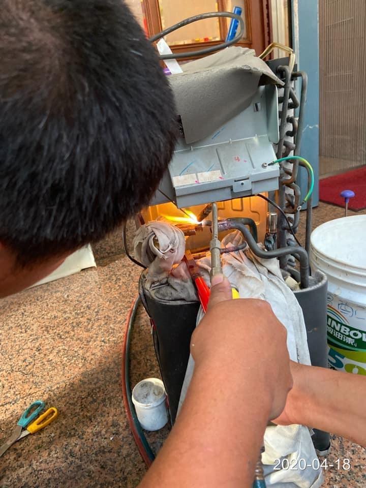 冷媒抓漏,修補焊接工程