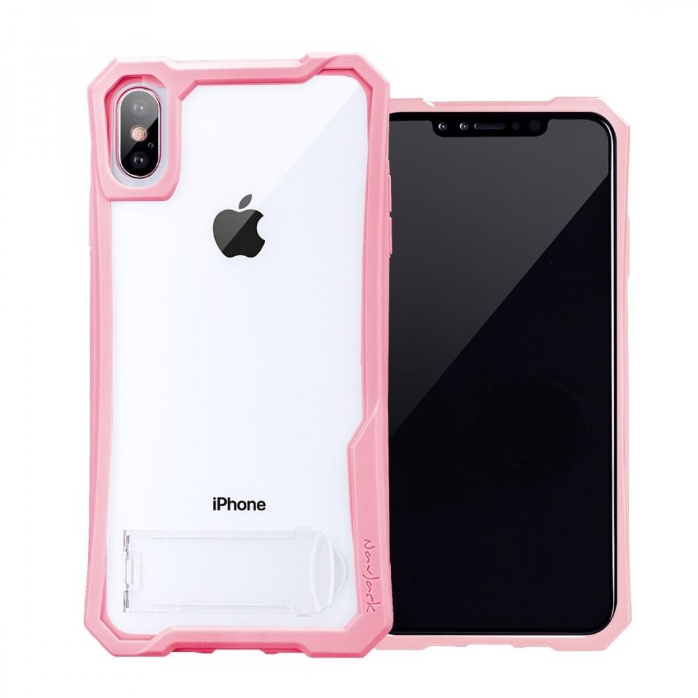 Stiff Series│iPhone Xs Max (6.5吋) 站立式抗摔吸震空壓保護殼