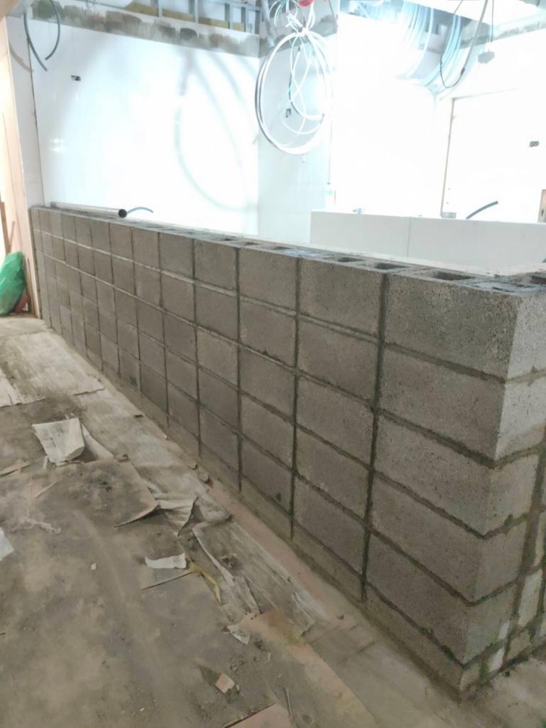 百歲磚/空心磚圍牆工程-空心磚