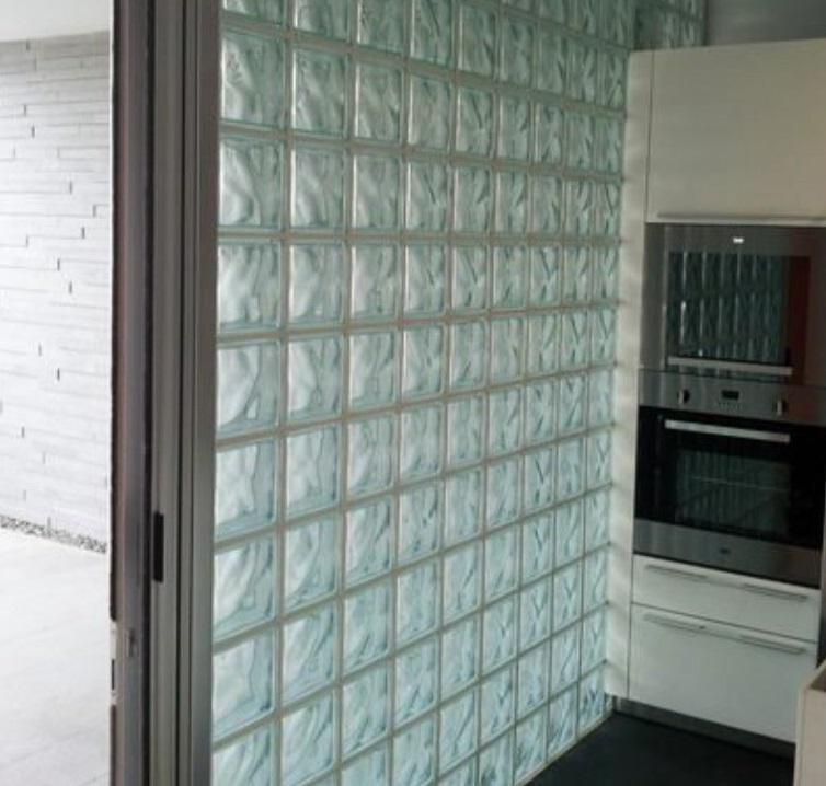 百歲磚/空心磚圍牆工程-玻璃磚
