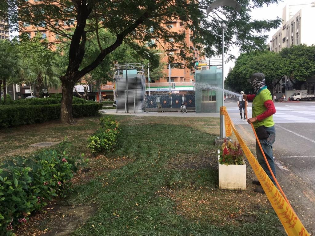 中庭綠地養護工程-樹病蟲害