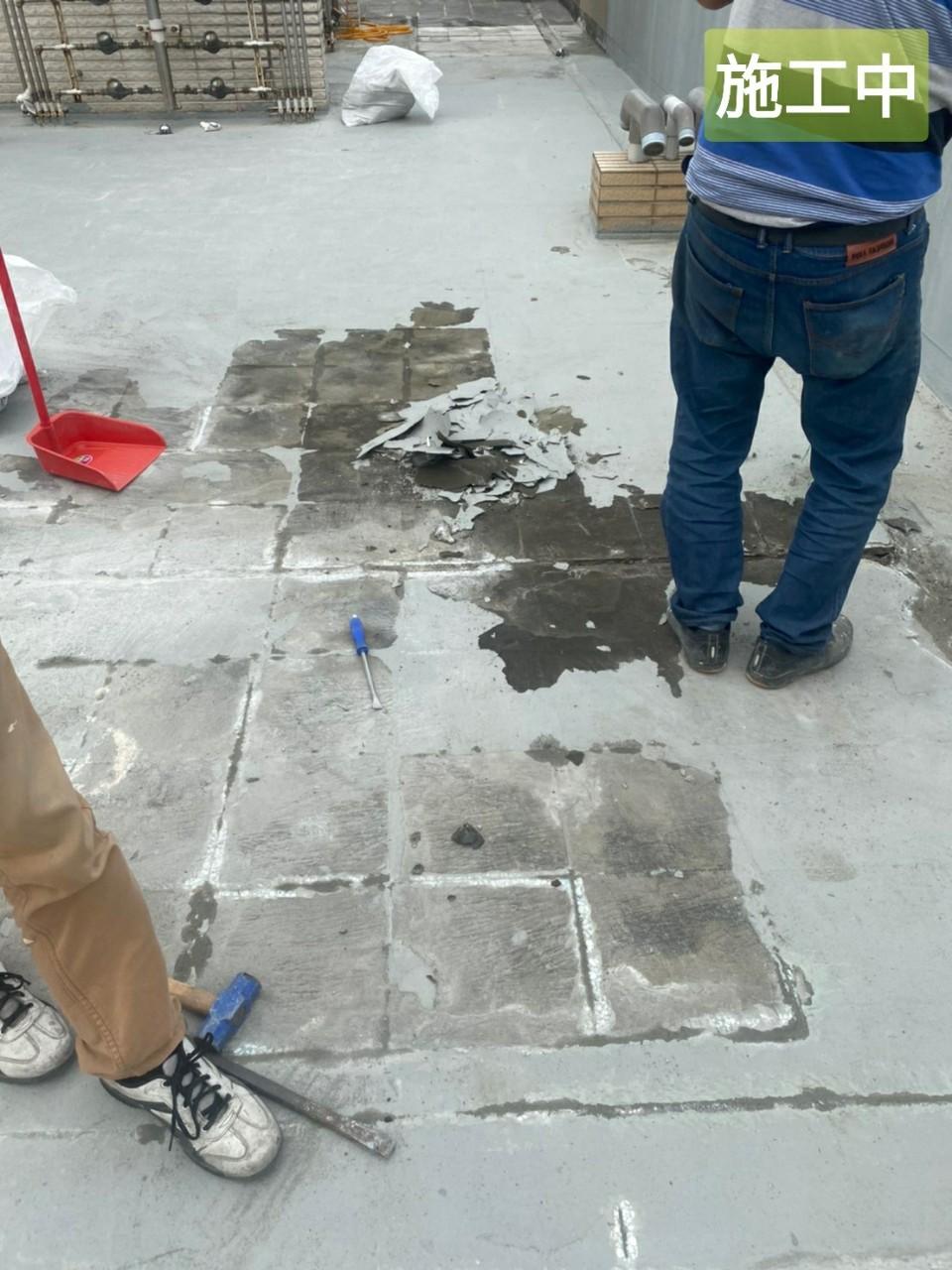 社區頂樓不敲除防水工程
