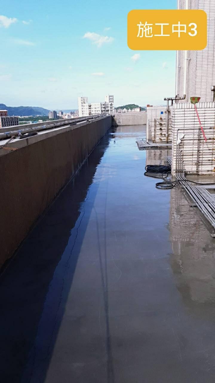 鶯歌社區頂樓防水及水管更新工程