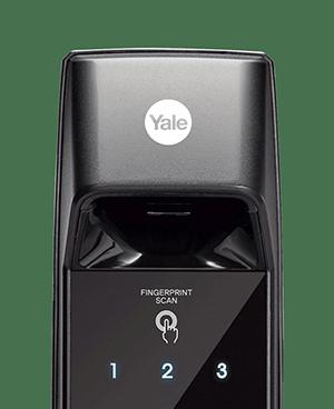 Yale耶魯卡片指紋五合一電子鎖YDM 7216
