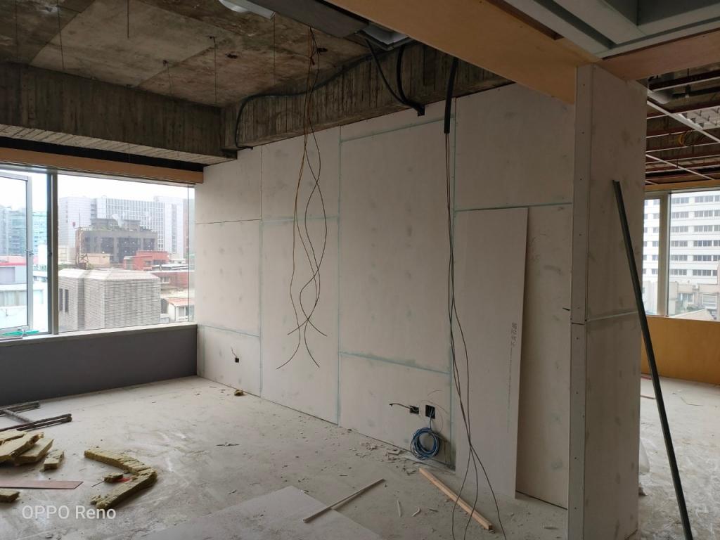 台北市南京東路二段辦公室乾式輕隔間