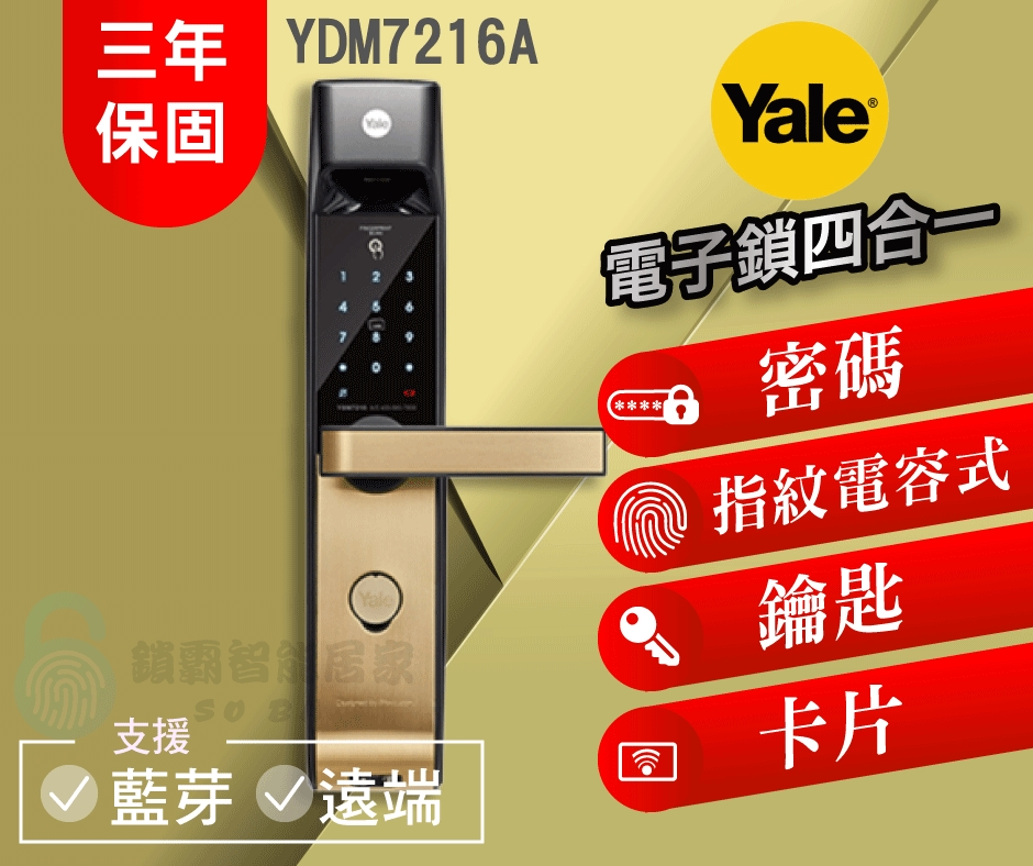 YALE YDM7216A