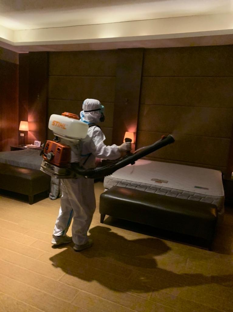 旅館.餐廳消毒