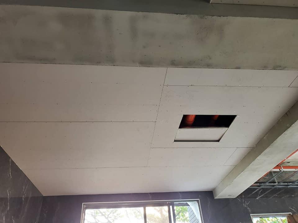 防火暗架石膏天花板