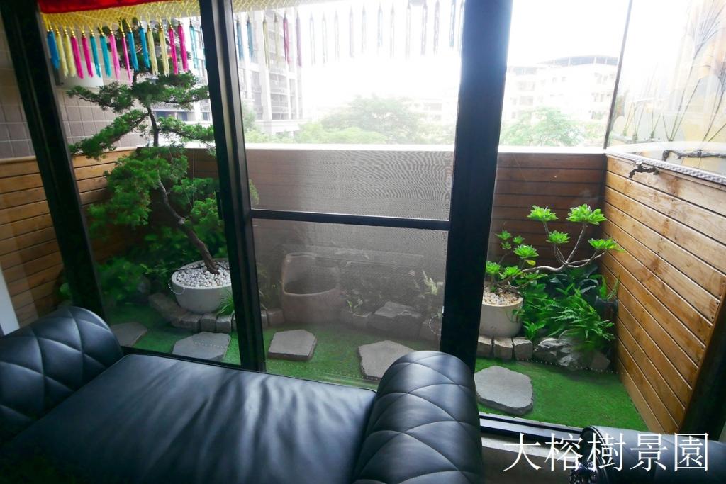 陽台室內造景