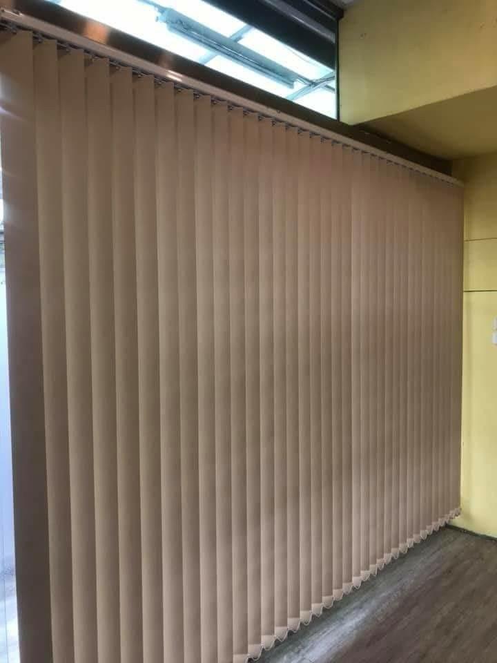 直立式窗簾