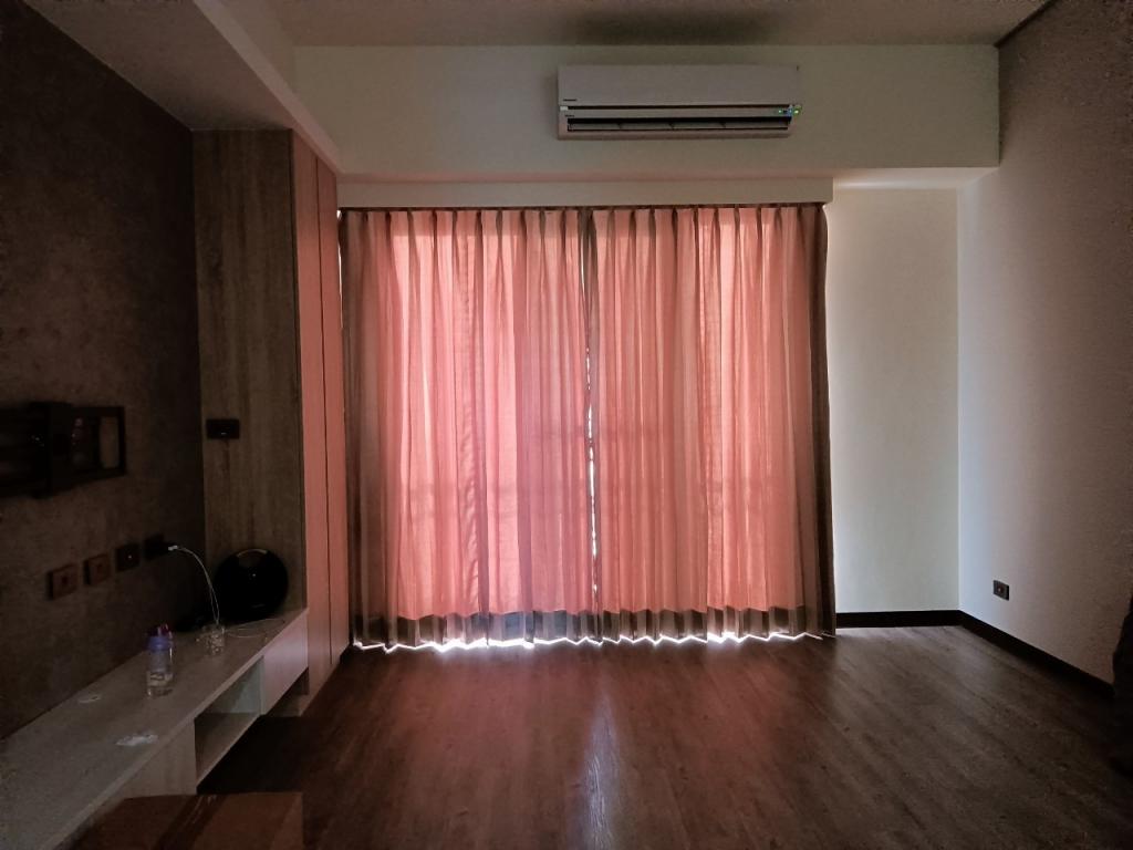 三折景布簾
