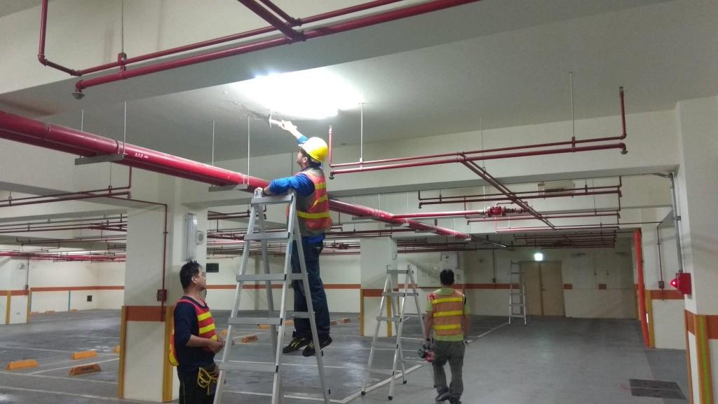 台中科技大學-監視系統.配管佈線安裝