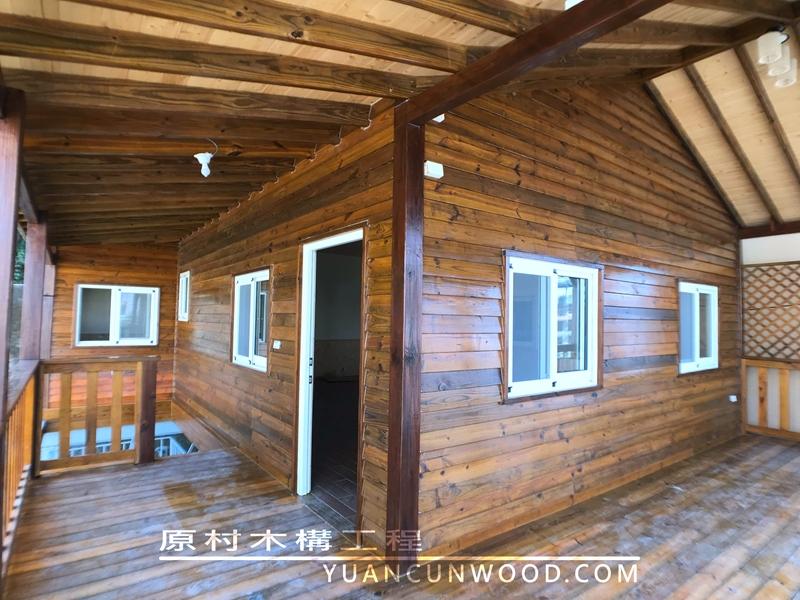 南投溫馨居家木屋 架