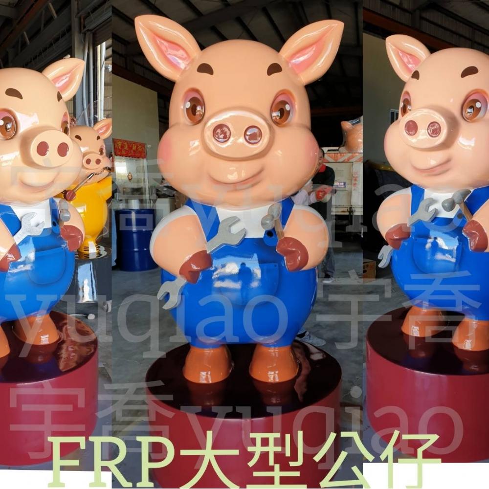 三隻小豬農場公仔